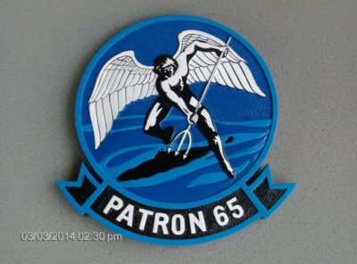 VP-65 Tridents Plaque