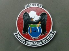 VP-16 War Eagles Plaque