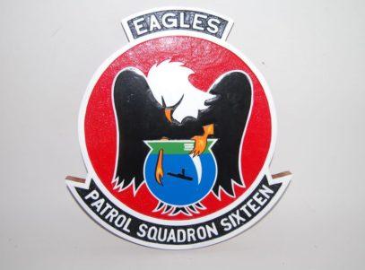 VP-16 War Eagles Plaque