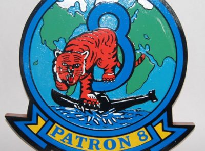 VP-8 Fighting Tigers Plaque