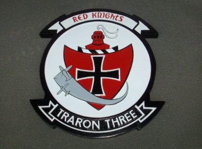 VT-3 Red Knights Plaque