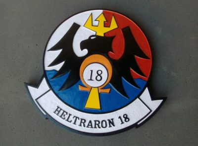 HT-18 Vigilant Eagles Plaque