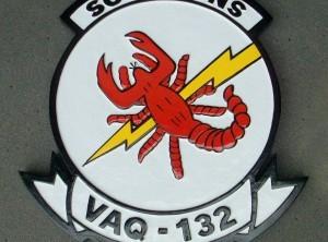 VAQ-132 Scorpions Plaque