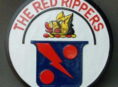 VFA-11 Red Rippers Plaque