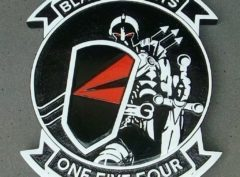 VFA-154 Black Knights Plaque
