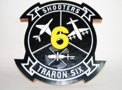 VT-6 Shooters Plaque
