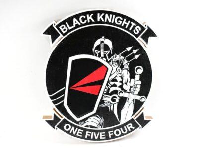 VFA-154 Black Knights Plaque