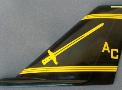VF-32 Swordsmen F-14 Tail