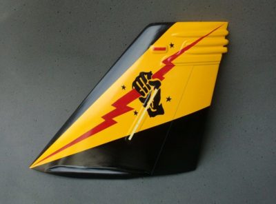 VFA-25 Fist of the Fleet F/A-18 Tail