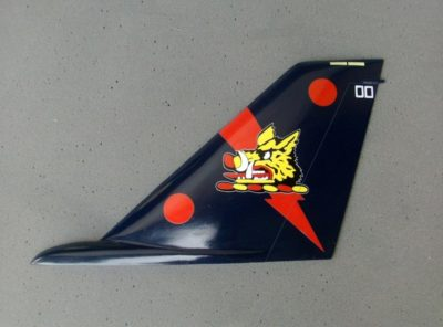 VFA-11 Red Rippers F/A-18 Tail