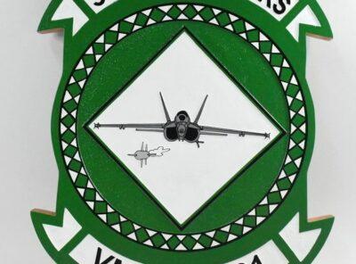 VMFAT-101 Sharpshooters Plaque