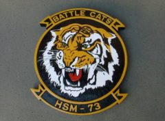 HSM-73 Battle Cats Wooden Plaque