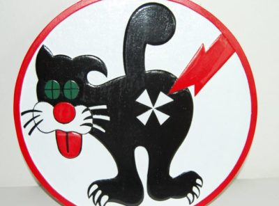 VS-24 Duty Cat Plaque