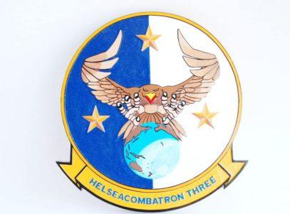 HSC-3 Merlins Plaque