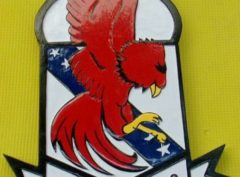 VFA-22 Fighting Redcocks Plaque