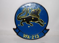 VFA-213 Blacklions Plaque