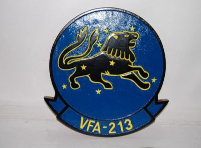 VFA-213 Fighting BlackLions Plaque