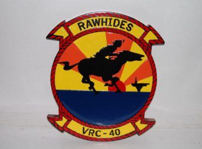 VRC-40 Rawhides Plaque