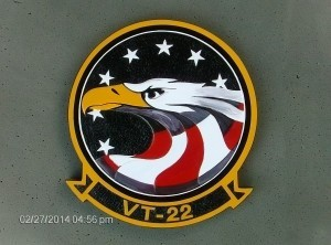 VT-22 Golden Eagles Plaques