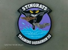 VT-35 Stingrays Plaque