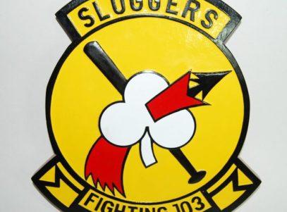 VF-103 Sluggers Plaque