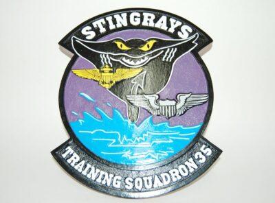 VT-35 Stingrays Plaque