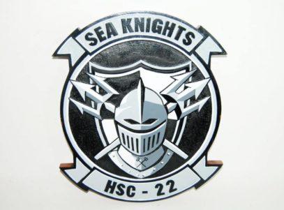 HSC-22 Sea Knights Plaque