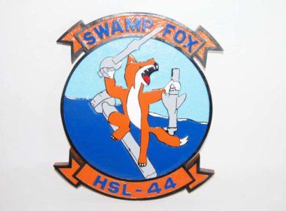 HSL-44 Swamp Foxes Plaque