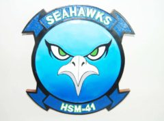 HSM-41 Seahawks Plaque