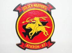 VA-87 Golden Warriors Plaque