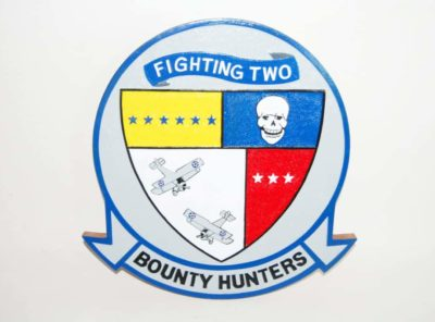VFA-2 Bounty Hunters Plaque