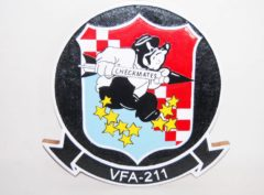 VFA-211 Checkmates Plaque