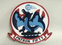 VP-50 Blue Dragons Plaque