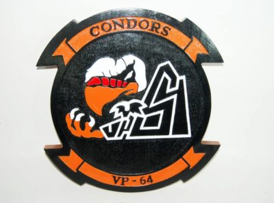 VP-64 Condors Plaque
