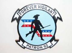 VP-92 Minutemen Plaque