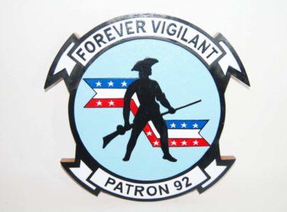 VP-92 Minutemen Plaque