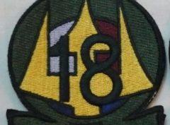 HT-18 Shoulder Patch Green