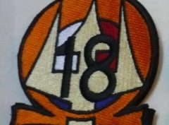 HT-18 Shoulder Patch Orange