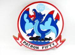 VP-50 Blue Dragons Plaque