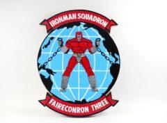 VQ-3 Ironmen Plaque
