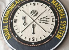 Naval Communications Security Material System Plaque