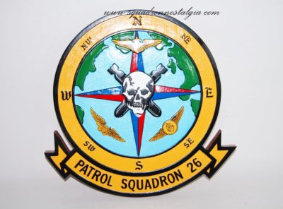 VP-26 Tridents' Plaque