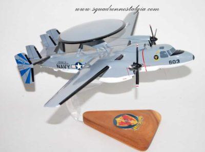 VAW-121 Blue Tails E-2 Hawkeye