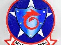 HSC-6 Indians Plaque