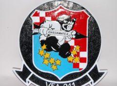 VFA-211 Checkmates Plaque