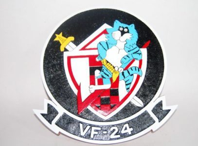 VF-24 Fighting Renegades Plaque