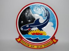 VP-6 Blue Sharks Plaque