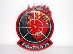 VF-74 Be-devilers Plaque