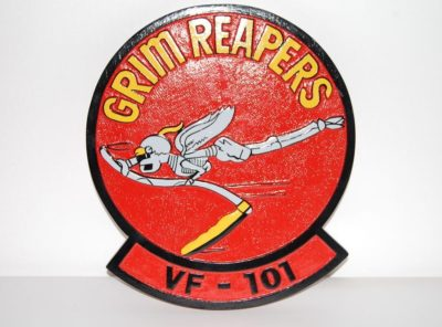 VF-101 Grim Reapers Plaque
