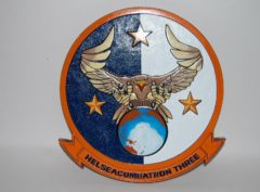 HSC-3 Merlins Plaque